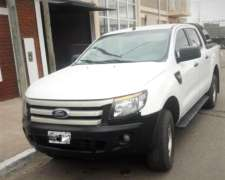Ford Rangler 4X2 año 2014 1-14.000 KMS Impecable