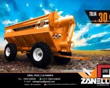 Tolva Autodescargable ZANELLO-30 M3-30.000 Litros