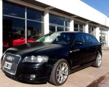 Audi a 3 Sportback 1.6 M/T año 2007, Impecable