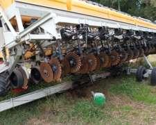 Sembradora Pla AGP G 18 a 52cm. Doble Cuchilla Fertilizadora
