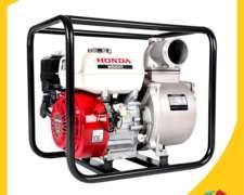 Motobomba, Honda, Wb30xt, Tipo Gx160, Producto De Fuerza