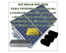 Sistema de Paneles Solares 1800 Wh/días