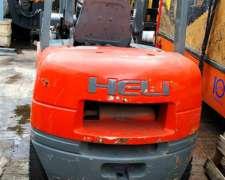 Autoelevador Heli, año 2008, Motor Reparado.