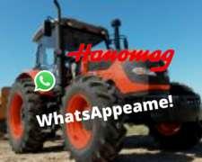 Tractor Hanomag Tr145c/a 140hp 4wd Agricola