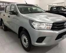 Toyota Hilux D/cabina Dx 2.4 Tdi 6m/t 4x4 Manual 0km