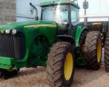 Tractor John Deere 8320 DT 2003 con Piloto