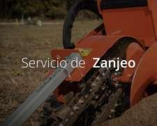 Construimos Redes Y Zanjas En El Interior Del País.