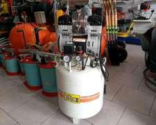 Compresor sin Aceite Odontologico BTA Silenciado 50 Litros