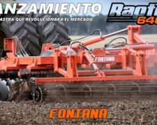 Rastra Rápida Multipropósito Raptor 6400 - Fontana