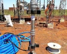Bomba Sumergible Solar Lorentz para Grandes Profundidades