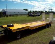 Carreton Transporte Maquinaria Avm-17-t. Mancini Nuevo