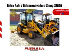 Retropala / Retroexcavadora Xcmg XT870 (br)