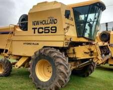 Cosechadora New Holland Tc59 2000