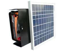 Electrificador / Boyero Solar Compacto 20kms.