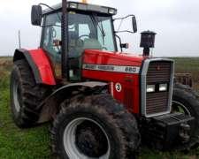 Tractor Massey Ferguson 660 4X4 año 2000