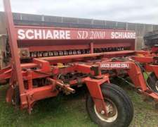 Sembradora Schiarre de 26 Lineas a 17,5cm