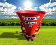 Fertilizadora Yomel De 1 Disco Monodisco 360lts Rsp360