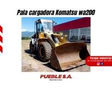 Pala Cargadora Komatsu WA200 2008 Financiación E. Pesos