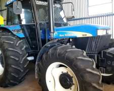 New Holland 7630 con Aa/cc 3000 Hs