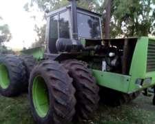 Tractor Zanello 500 con Motor de 540 Rodado Dual