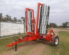 Rolo Triturador Rastrojo M-6000/75 Cuchillas Intercaladas