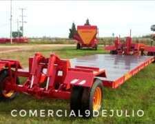 Trailer Transportador Hidráulico Acepla 4/8tt - 9 de Julio