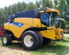 Cosechadora New Holland Cr9060, Usada