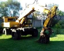 Excavadora Tortone 120 Motor Fiat
