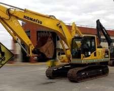 Excavadora Komatsu Pc 200-8 2016 2900hs Financio Todo Vial