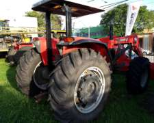 Tractor Massey Ferguson 290 RA DT con Pala Frontal LF