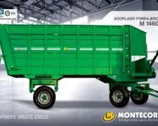 Acoplado Forrajero Montecor M1460