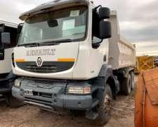Renault Kerax 440 6X4 Volcador 2010