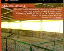 Divisores de Corral para Cerdos a Medida
