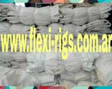 Bolsones Usados De Rafia 1 Solo Uso Reciclados