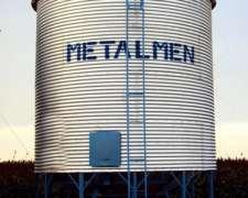 Silos Metalmen. Colonia Menonita. la Pampa