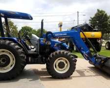 Tractor New Holland TL 95/4 con Pala Original, 0 km