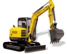 Excavadora Wackerneuson Ez53 - 6 Tons 3.75 Mt De Profundidad