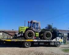 Tractor Zanello 500-c 1995 C/ Topadora y Cubierta Forestal