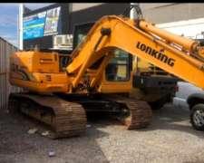Excavadora Lonking 14 Toneladas .