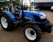 Vendo Tractor New Holland, Td85f, Doble Traccion, Nuevo