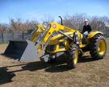 Pala Cargadora Frontal Om-250-f en Pauny A180
