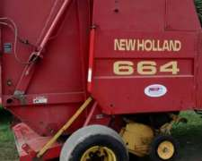 Rotoenfardadora New Holland 664 Arrolladora