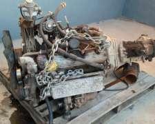 Vendo Motor Maxion 2.5 Con Caja De 5ta