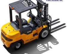 Autoelevadores Samuk 3.5 Toneladas MOT Mitsubishi 3.3 Diesel