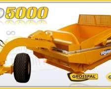 Pala Hidráulica de Arrastre Grosspal VD 5000