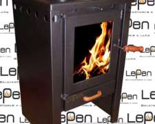 Calefactor Lepen A Leña 9000 Kcal
