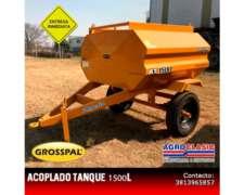 Acoplado Tanque Grosspal 1500 L