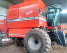 Cosechadora Massey Ferguson 5650 Advances