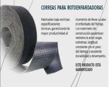 Juego de Correas para Rotoenfardadoras / Case 8465