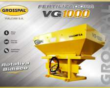 Fertilizadora Grosspal 3p VG 1000